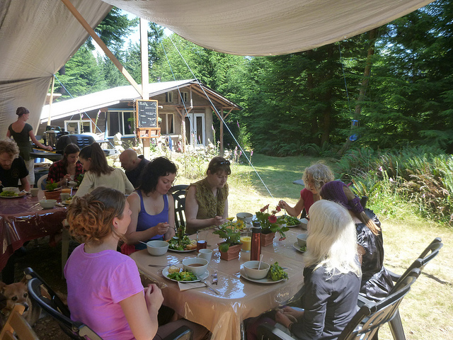 Haute cuisine camping-style in the glory of nature.