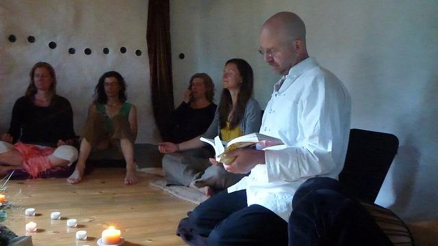 A Meditation Session Led by Scott Robinson