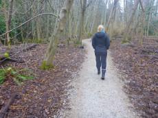 darci r walking